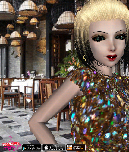 Teen Vogue Me Girl Level 21 - Celebratory Dinner - Ally - Snapshot