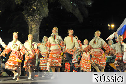RÚSSIA - Folk Dance and Song Ensemble Iskorka