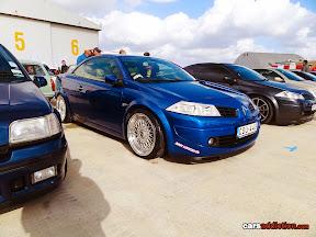 Lowered Renault Megane Convertible