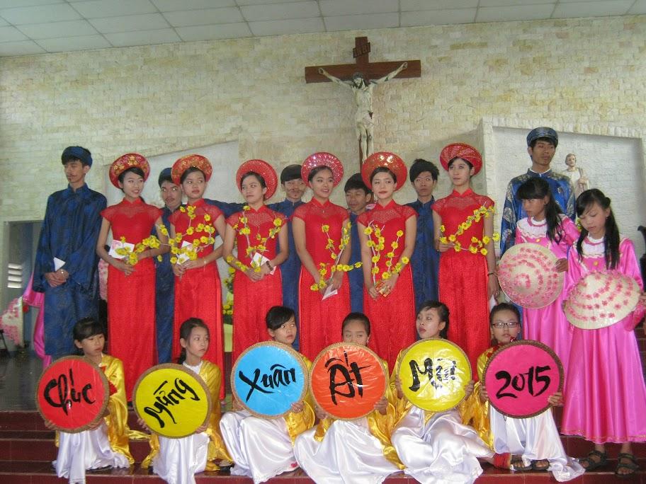 Thánh lễ cầu bình an cho năm mới Ất Mùi 2015 tại Giáo xứ Dục Mỹ- Giáo phận Nha Trang.