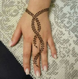 Mystylespots 20 Simple Henna Designs