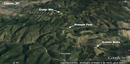 Photo: The hike from Stemple Pass to Crater Mountain is 6 miles round-trip. Out and back to the Granite Butte Lookout is 8 miles.