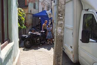 Photo: во время съемок очередного фильма в 2014 году. ул. Украинская