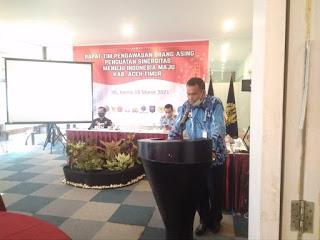 Pemkab Aceh Timur Bahas Pengawasan WNA dengan Imigrasi Langsa