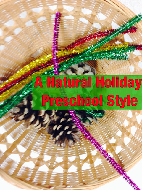 Inside Outside Michiana: A Natural Holiday: Preschool Style