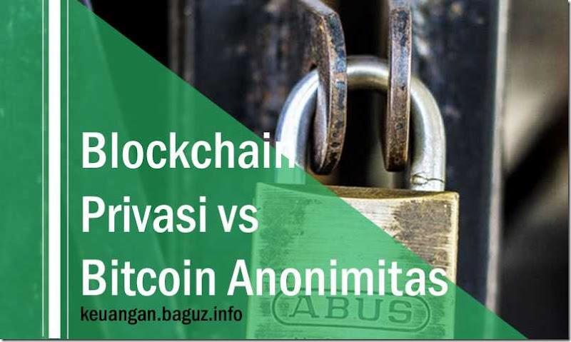 Bitcoin anonimitas vs Blockchain privasi