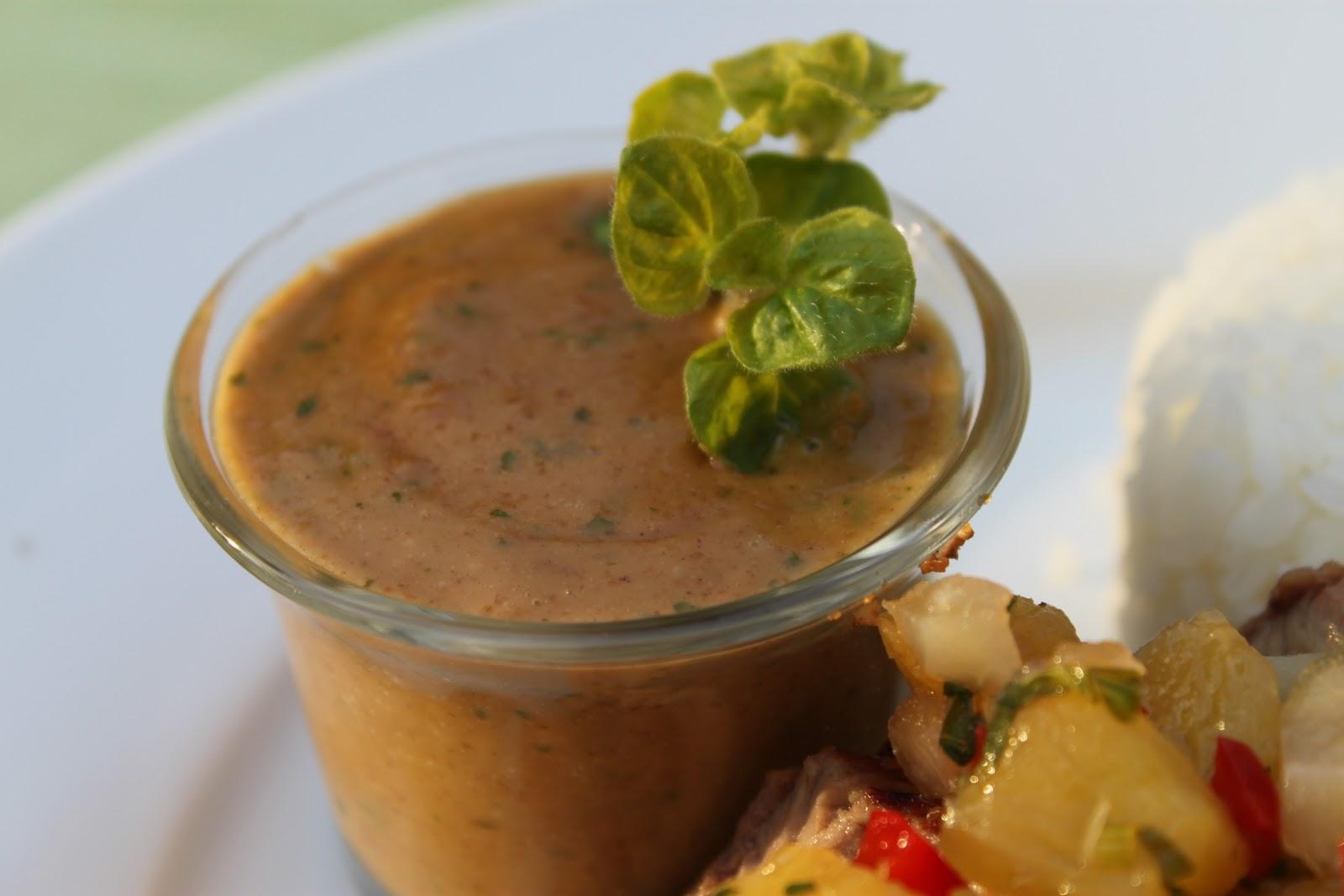 Grilled Asian Pork Tenderloin with Peanut Sauce | The Café Sucre ...