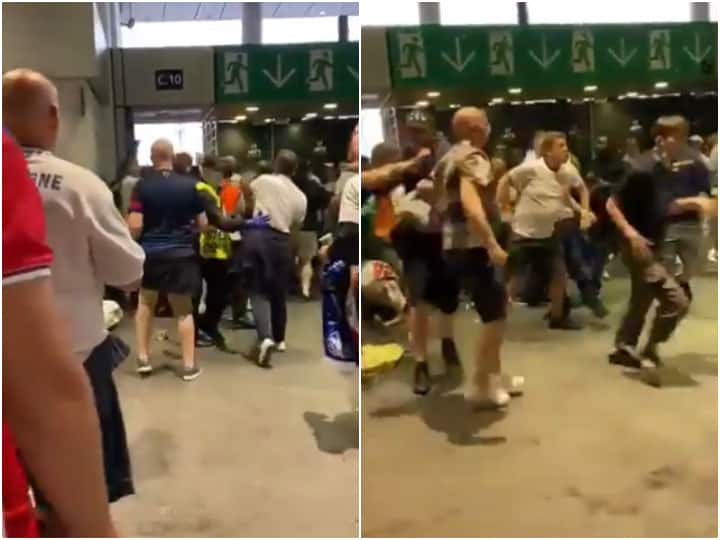 English fans attack Italians at Wembley after EURO 2020 Final (video)