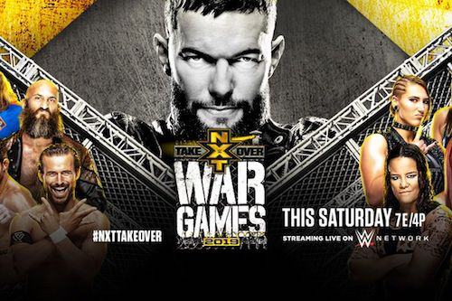 Poster Of WWE TakeOver WarGames 23rd November 2019 HDTV 480P 300MB