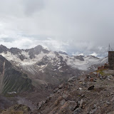 Sur l'Elbruz à 3700 m (Terskol, Kabardino-Balkarie), 13 août 2014. Photo : J. Marquet