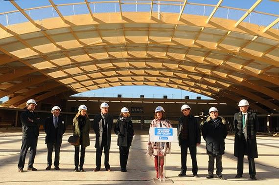 Nuevas instalaciones cubiertas del Centro Deportivo Municipal de Gallur