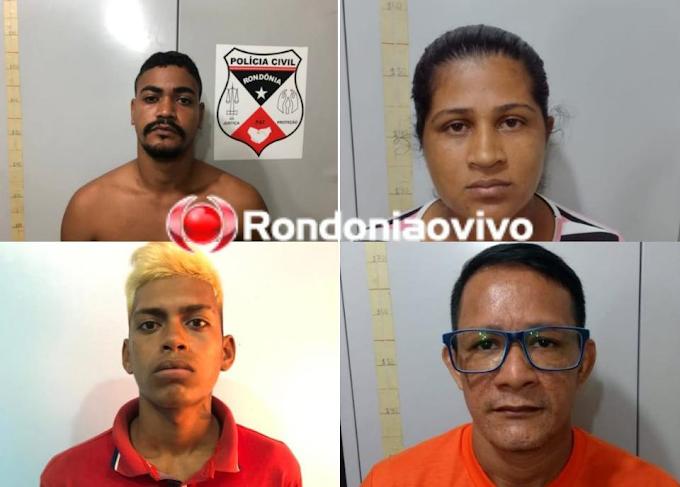 Operação da Polícia Civil prende quadrilha especializada em roubos com sequestro