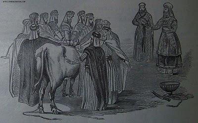 וסמכו זקני העדה את ידיהם על ראש הפר