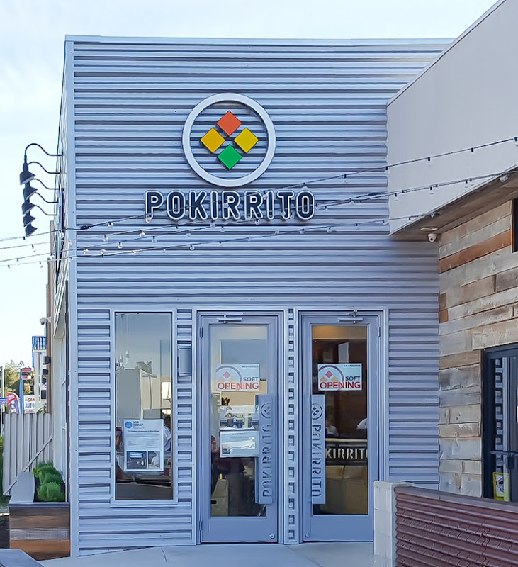 photo of the outside of Pokirrito