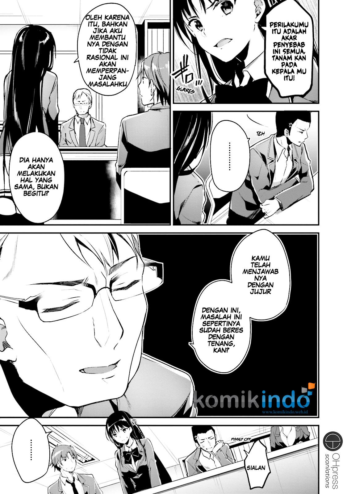 Baca Komik Youkoso Jitsuryoku Shijou Shugi no Kyoushitsu e Chapter 13 Bahasa Indonesia Page 21