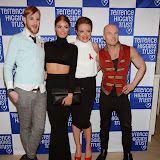 OIC - ENTSIMAGES.COM - Lewis-Duncan Weedon, Chloe Sims, Lucy Dartford and Phillip Baldwin at the Terrence Higgins Trust's 'The Auction' in London 12th March 2015