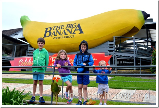 The Big Banana in Coffs Harbour, New South Wales | Our Aussie Homeschool