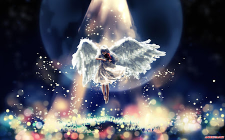 Vẻ đẹp khó cưỡng của 30 hình nền anime thiên thần