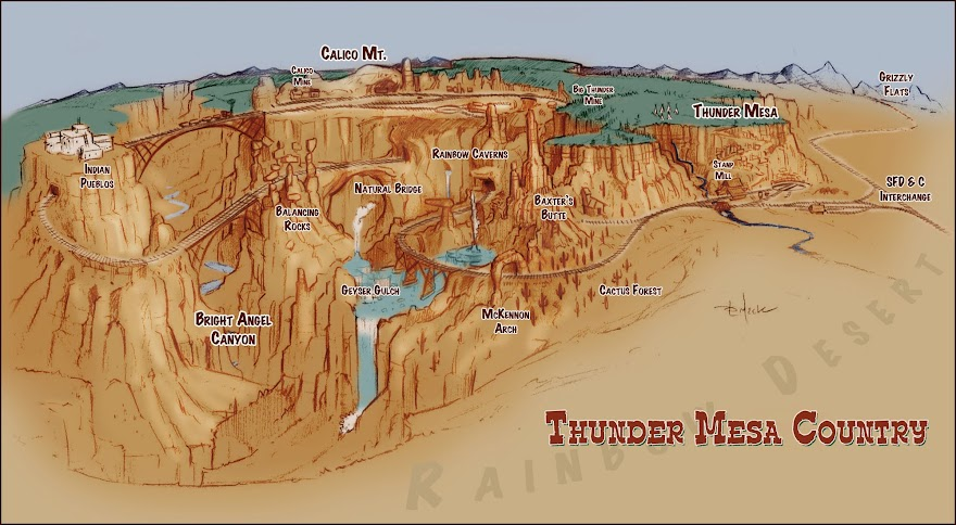 Thunder Mesa Country