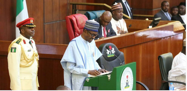 Buhari booed during a joint session of the National Assembly, as he lists his achievements