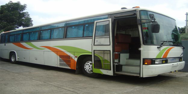 Luzviminda Travel and Tours: Cebu - Bus For Rent (Pilipinas Hino)