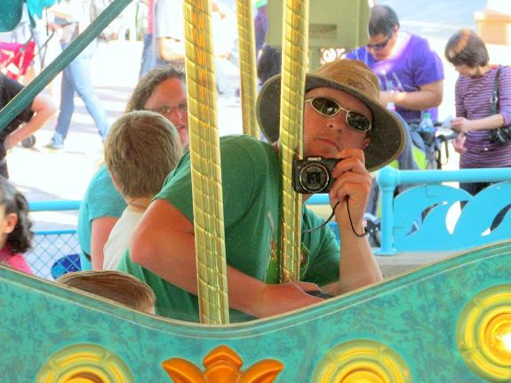 Carousel selfie