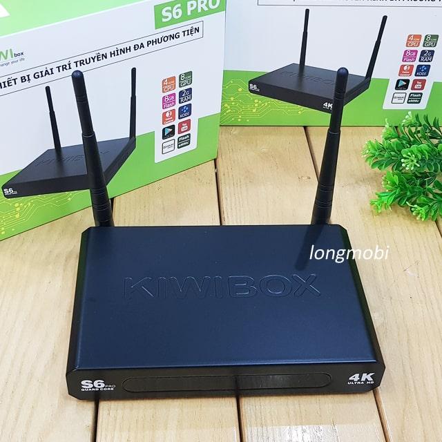 android tv box kiwi s6pro