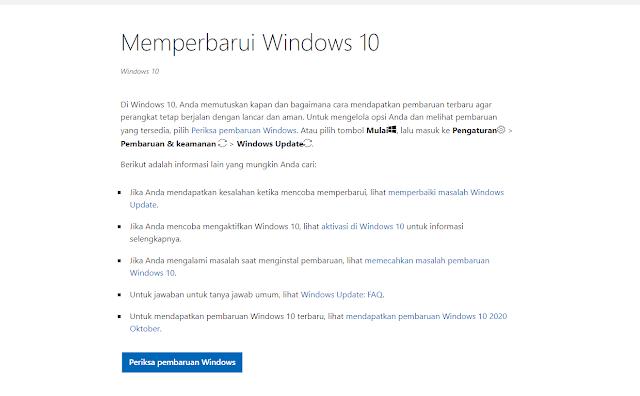 Cara Mengatasi Error 0x80080008 Update Windows 10