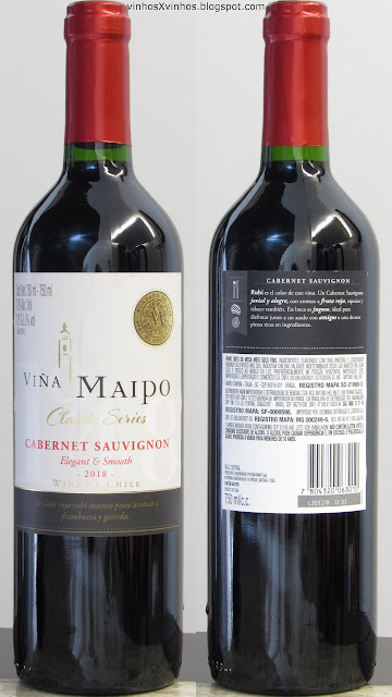 Vinho Viña Maipo Cabernet Sauvignon Classic