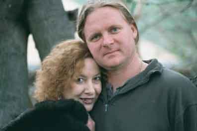 Janet Farrar And Gavin Bone, Stewart Farrar