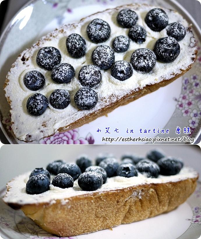 9 藍莓tartine