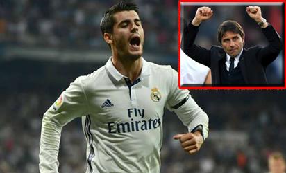 Conte: Morata will marry my daughter