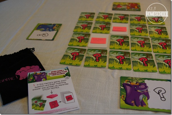 Hungry Minds Review Game 1 - matching game