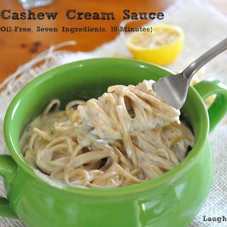 Garlic Cashew Cream Sauce.