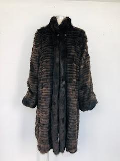Sable Fur/Silk Reversible Coat