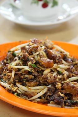 char koay kak at batu lanchang market, penang