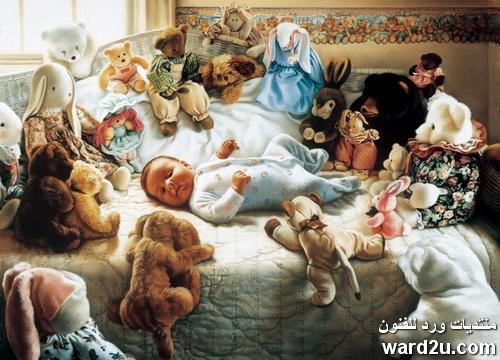 ذاكرة الحب و العطاء فى لوحات tom sierak