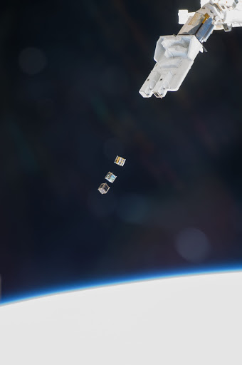 Small Cube Satellite Deploy