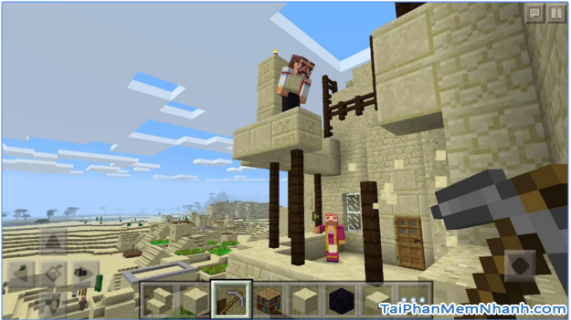 Game Minecraft - Pocket Edition cho Android