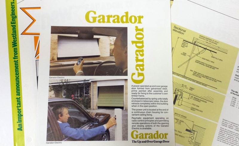 Westlands Engineers Garador Electric Garage Door