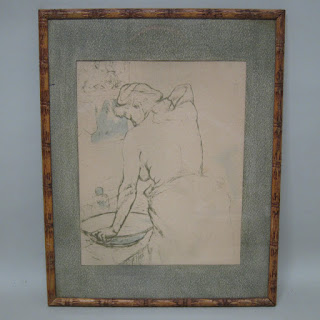 Mary Cassat Style Lithograph
