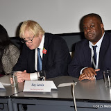 OIC - ENTSIMAGES.COM - Mayor Boris Johnson and Ray Lewis at the  Black history Month 50th Anniversary Race Relations Act lunch at City Hall London 29th October 2015 Photo Mobis Photos/OIC 0203 174 1069