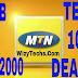 DealZone: Get MTN 7GB Data For Just N2000 Naira Via Tech+ 100% Bonus