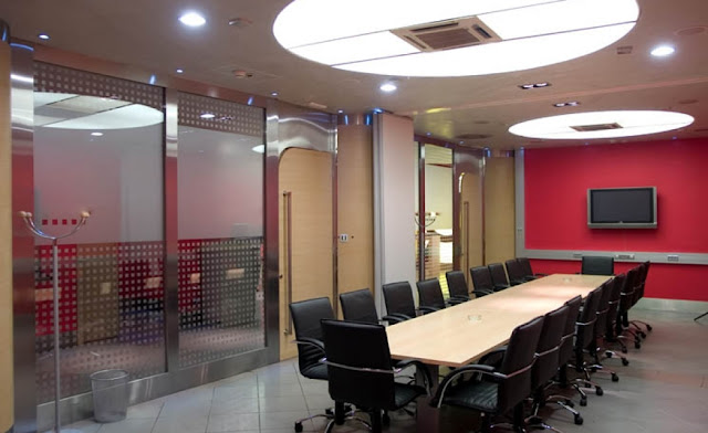 Re-decoration of a Solicitors conference room in lancashire