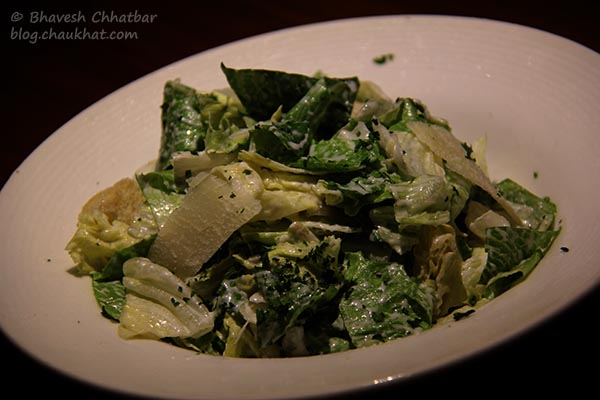Caesar Salad served at Toss Sports Lounge Koregaon Park