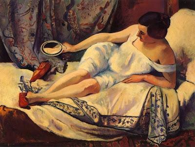 Henri-Charles Manguin - Le lever, 1910