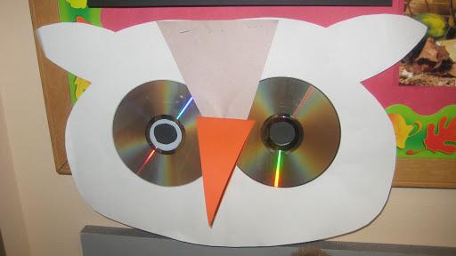 Owl craft - cds