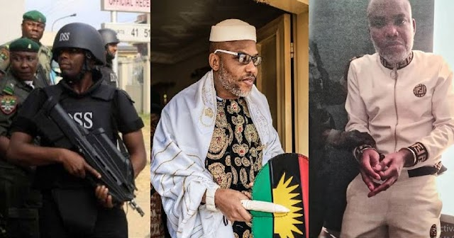 """""""It Is Possible That Our Leader May Have Been Killed""""- IPOB Reacts To DSS Failure To Produce Nnamdi Kanu In Court"""