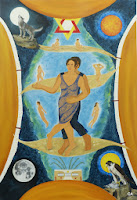 'Dance- Gemälde', Öl auf Leinwand, 160x110, 2013