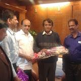 Principal Meets Railway Minister